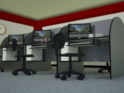 Korella sac muebles de melamina oficina for Modulos para oficina precios