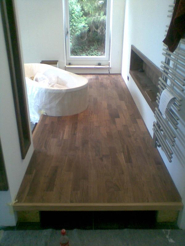 krolop parkett parkett im bad. Black Bedroom Furniture Sets. Home Design Ideas