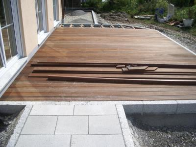 krolop parkett terrasse massaranduba. Black Bedroom Furniture Sets. Home Design Ideas
