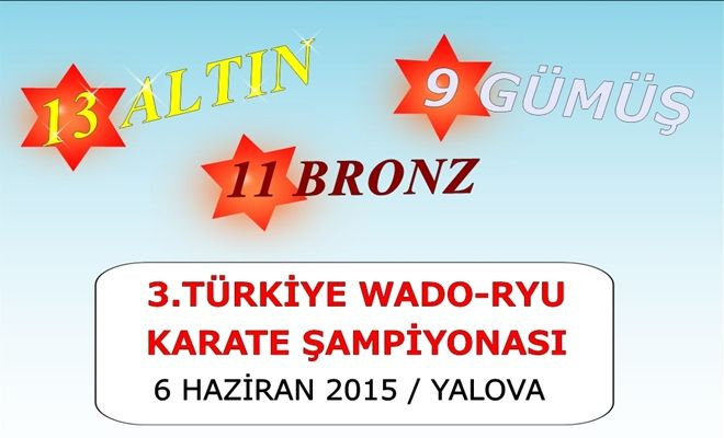 3.Türkiye Wado-Ryu Karate Şampiyonası