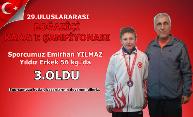 Küçükköy Karate Spor Kulübü, Emirhan Yılmaz Boğaziçi Karate Şampiyonası ,İstanbul Karate , - İstanbul Karate Kulübü