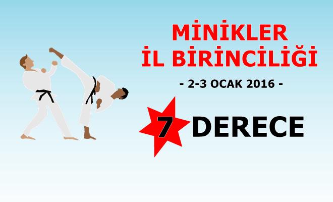 Minikler İl Birinciliği - 2016 - İstanbul Karate Kulübü