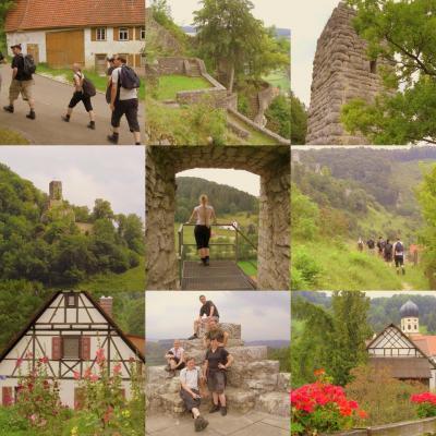 Schwäbische Alb - Großes Lautertal - Burgenweg