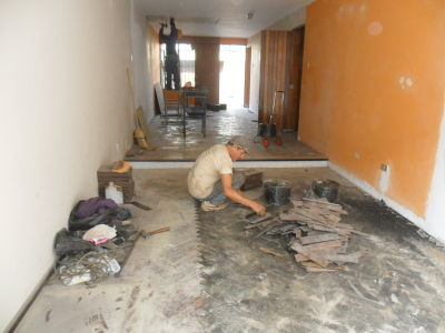 La casita del parquet mantenimiento reparacion - Sacar manchas de oxido del piso ...