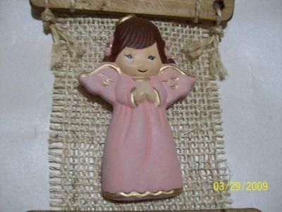 Detalles y recuerdos bautizo - Angelitos de yeso ...