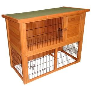 Adopter un lapin nain bien le loger for Cabane a lapin exterieur