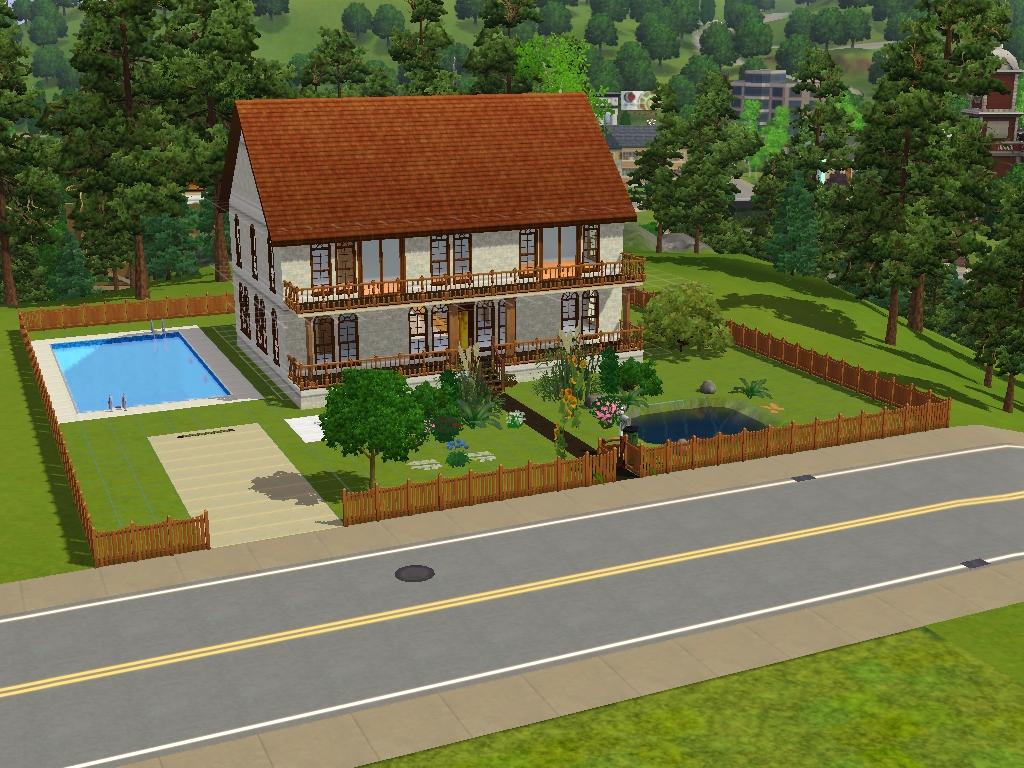 Sims 3 Seite - Downloads Häuser