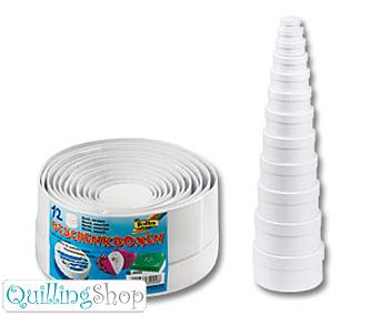 QuillingShop.ru Наборы круглых коробочек из белого картона для квиллинга схема коробочки шкатулки из бумаги китайские коробочки как сделать шкатулку, коробочки для подарков изготовление шкатулок, коробочки купить шкатулки оптом шкатулка для хранения полезных вещей, коробочки из картона шкатулки фото, как сделать коробочку из бумаги декупаж шкатулки квиллинг коробочки для хранения шкатулка из картона для рукоделия