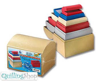 QuillingShop.ru Наборы шкатулок из цветного картона для квиллинга поделки из коробочек в стиле квиллинг круглая коробочка для квиллинга коробочка упаковка, как сделать коробочку из картона с украшением в стиле квиллинг, коробочка из бумаги оригами белая и цветная подарочные коробочки своими руками
