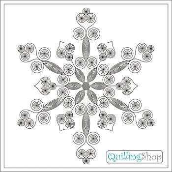 QuillingShop.ru: Схема для квиллинга: рождественская квиллинг снежинка, для изготовления квиллинг снежинок обычно используются белые и светло-голубые расцветки полосок для квиллинга. Мы публикуем схему снежинки, у нас квиллинг схемы вы можете скачать бесплано на сайте доступны квиллинг снежинки и квиллинг мастер класс новогодний квиллинг