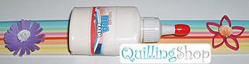 QuillingSHOP.ru: магазин для квилинга - белый клей ПВА для квиллинга в удобном тюбике, клей используется для фиксации квиллинговых роллов, а также прикрепления элементов квиллинга и бумажных полосок quilling к основе изделия