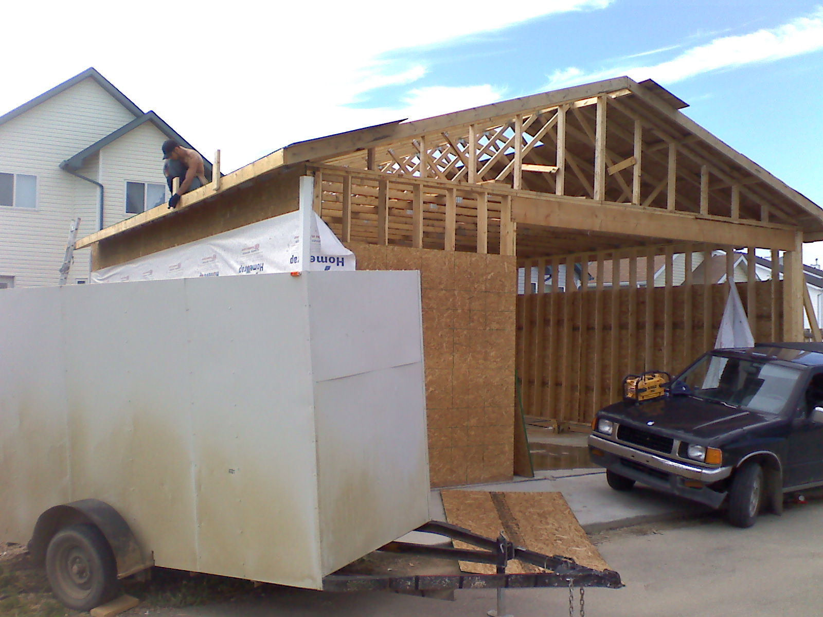 Lee Schaefer Construction Garage Shed
