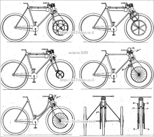 Werner, types de transmission, 1898