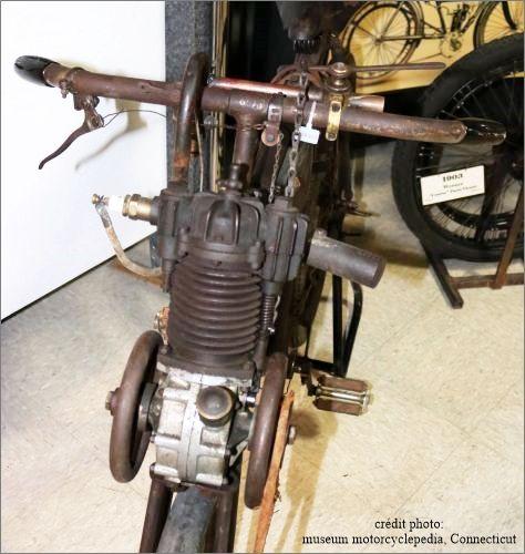 photo du moteur Werner 1899