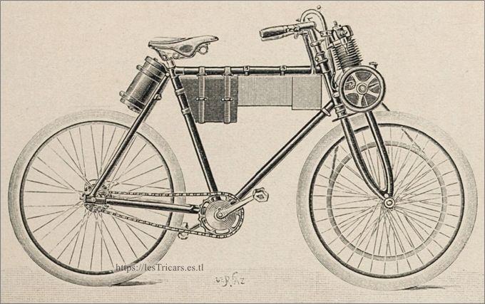 la motocyclette Werner de 1899