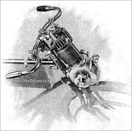 moteur pour motocyclettes Werner 1900