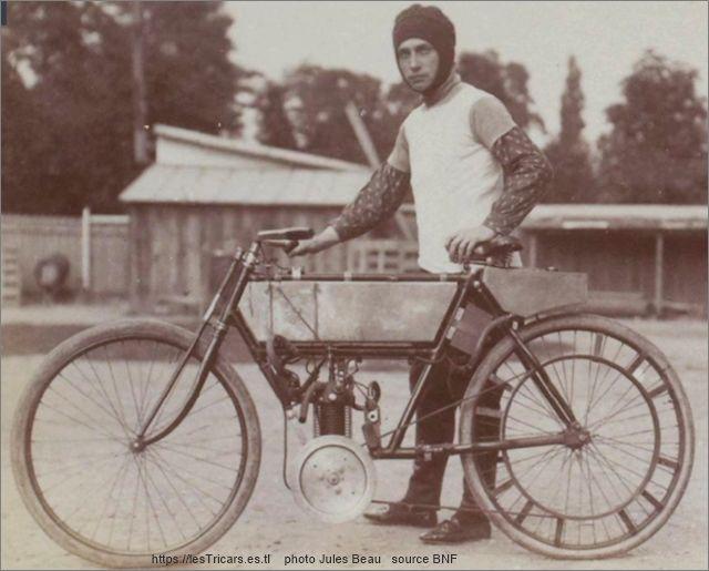 Millo sur La Foudre, 1903, critérium quart de litre