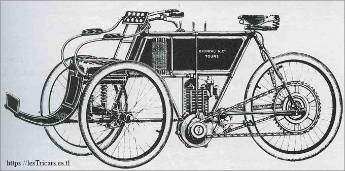 tricar Bruneau 1904
