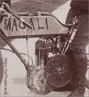 Magali 1904, moteur Deckert