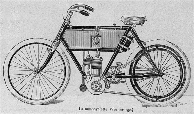 moto Werner, modèle 1904