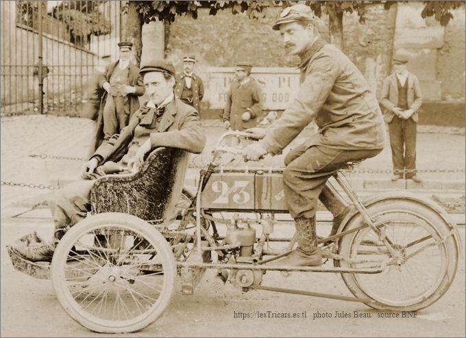 Bauduret sur tricar Werner 1905