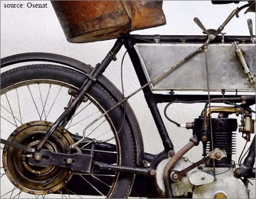 tricar Bruneau 1905, les freins