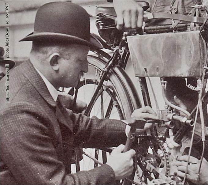 Georges Longuemare en 1905