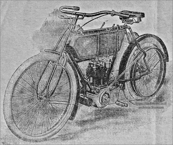motocyclette Werner modèle 1905