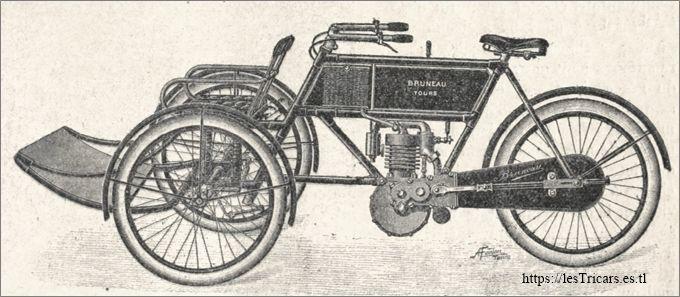 Tricar Bruneau 1905