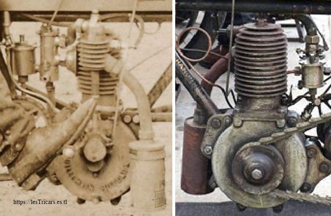le moteur Villemain refroidi à air