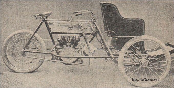 Trivoiturette Stimula 1906 au Salon déc 1905
