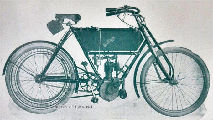 moto Werner, modèle 1906