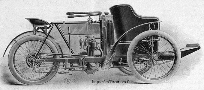 Mototri Contal, modèle 1907