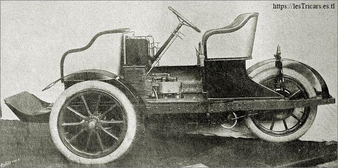 trivoiturette Rochet-Bruneau, 1907