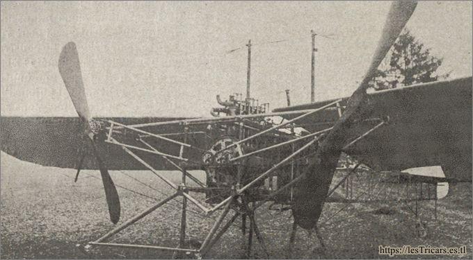 Le monoplan Protin-Contal en 1910