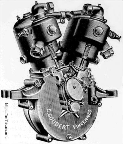 moteur C. Coudert, Vincennes 1911