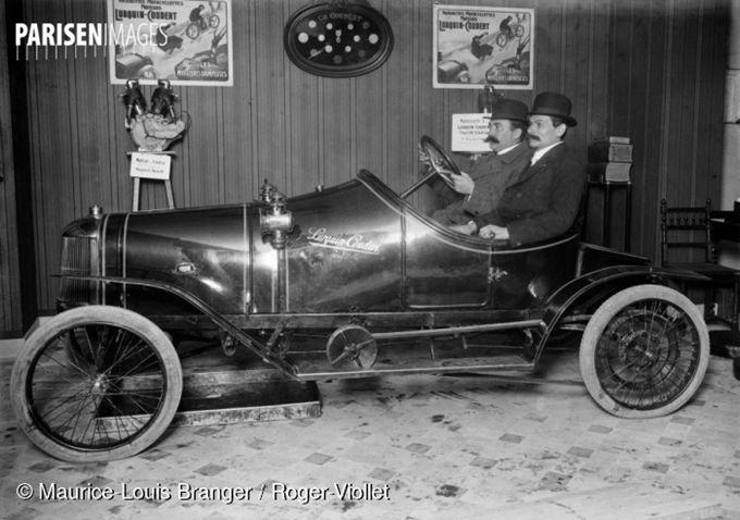 La voiturette Lurquin et Coudert Torpedo Sport 1911