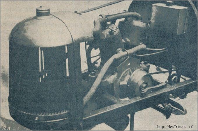 Le moteur de la voiturette Torpédo-Sport, 1912