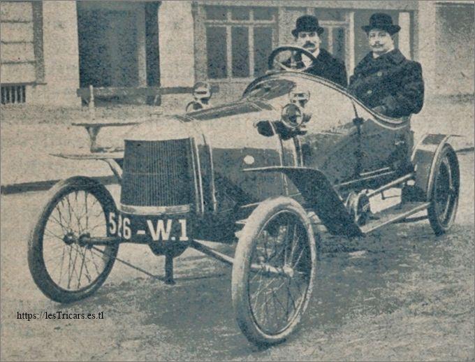 La voiturette Lurquin et Coudert Torpedo Sport 1912