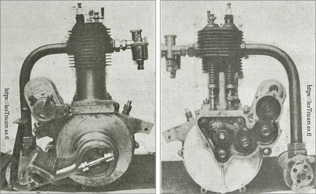 Le moteur Lurquin et Coudert, modèle 1913