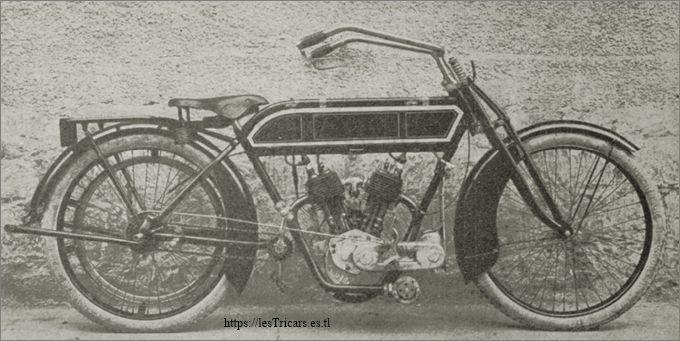 motocyclette Lurquin & Coudert 1913