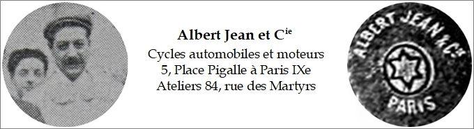Albert Jean, Portrait, adresse et signe