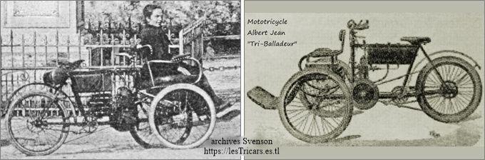 tricar Albert Jean, photographie et dessin