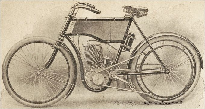 Autobicyclette Stimula modèle 1903