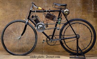 Autocyclette Clément 1910-1903