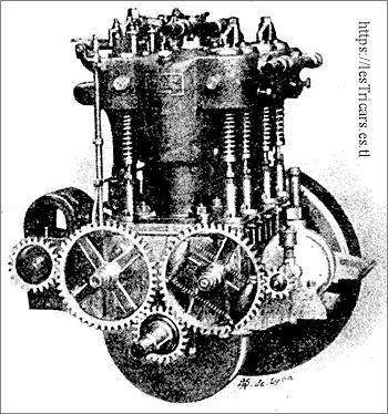 moteur Automoto 20CV, 1904