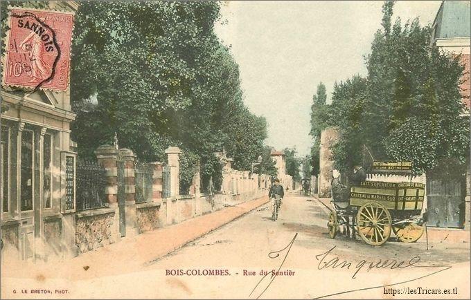Bois-Colombes, rue du Sentier