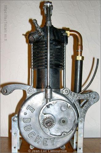 moteur Buchet, collection Lamouroux