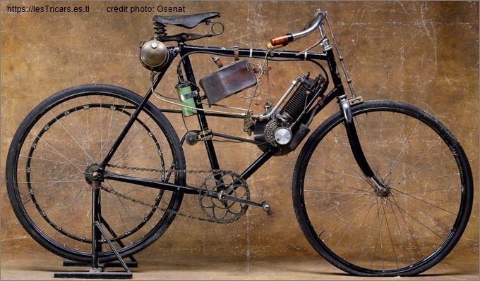 Clément, Autocyclette, bicyclette à pétrole.