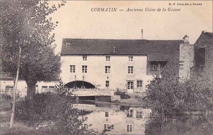 Cormatin, ancienne usine de la Grosne